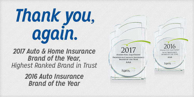 2017 Auto & Home Insruance Brand of the Year