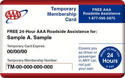 Triple Aaa Number >> Aaa Membership