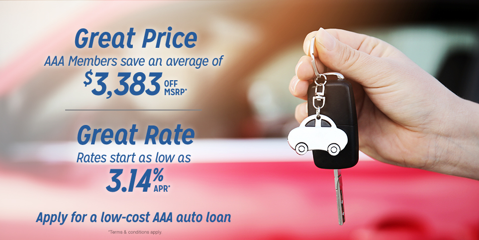 Apply for a low-cost  AAA auto loan