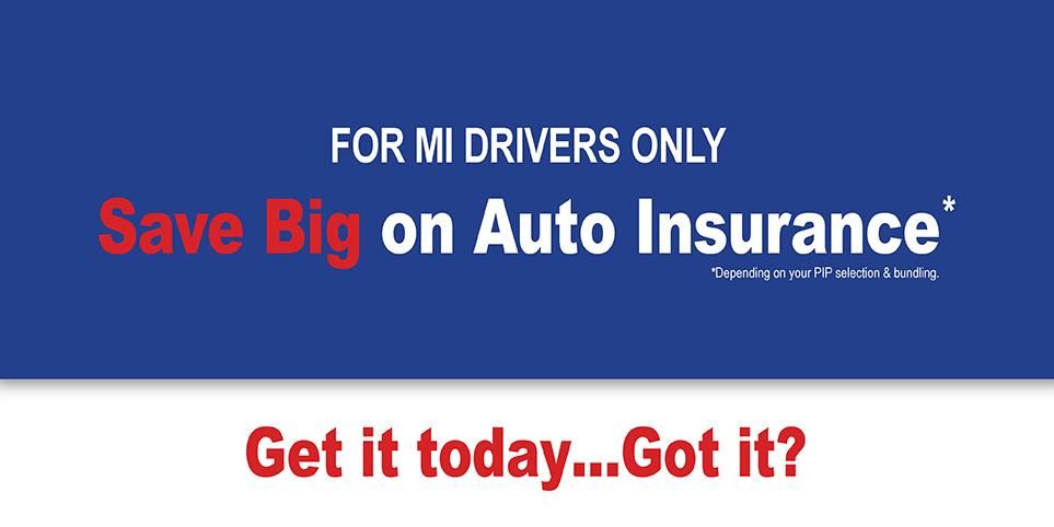 Michigan Select Auto Insurance